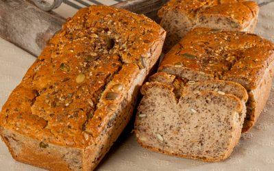 Pain aux farines sans blé multigraines bio