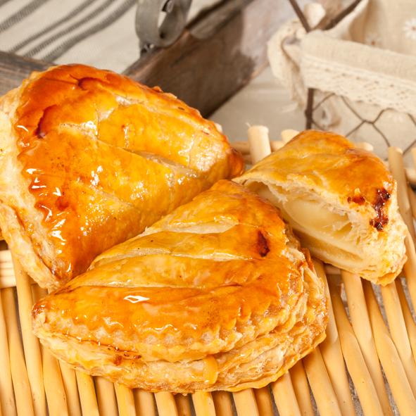 Chausson aux pommes pur beurre bio 100 gr