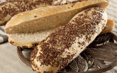 Sandwich rustique lin bio 110 gr