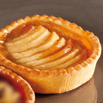 Tartelette pommes bio 140 gr